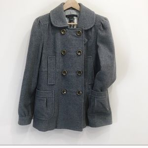 Marc by Marc Jacobs Wool Peacoat  Grey Sz 10